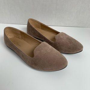 Forever- Beige Loafer Flats